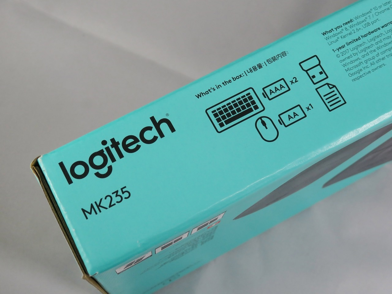 Logitech MK235 Wireless Keyboard & Mouse Kit