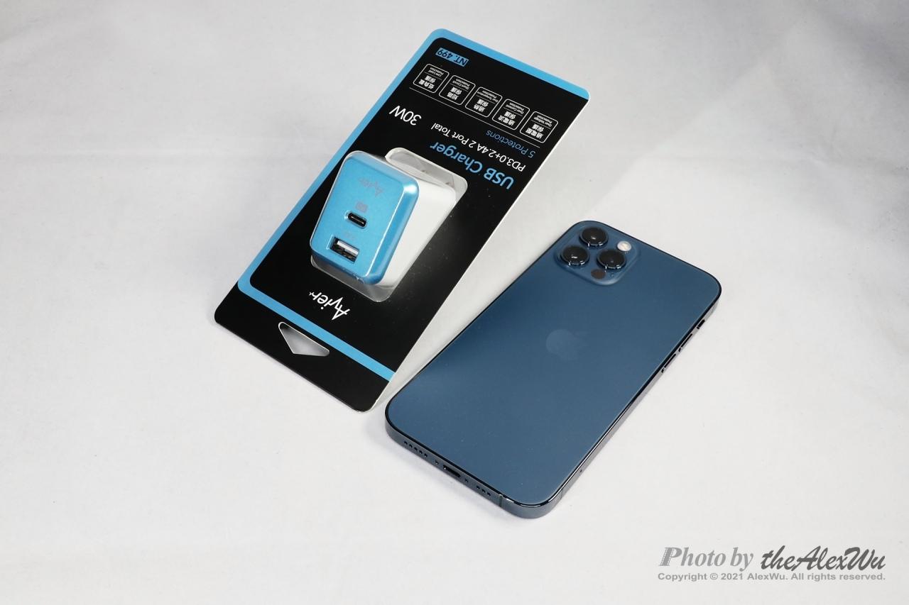 〈iPhone 12 Pro的太平洋藍是什麼藍〉同場加映:Avier USB快充、Avier充電傳輸線